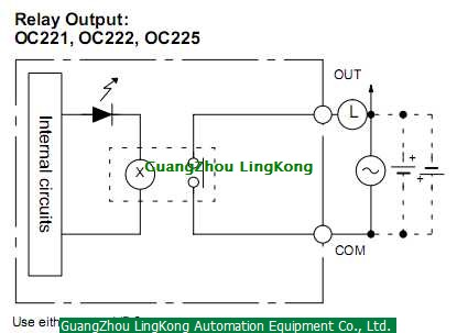 C200H OC225 | OMRON Relay Output Module OMRON C200H-OC225 on potter brumfield relay schematic, allen bradley relay schematic, idec relay schematic,